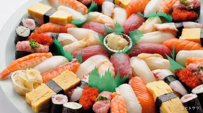 天空のジパング - 料理写真:にぎり寿司