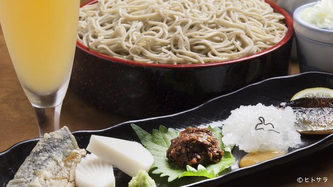 にわ - 料理写真:そば本来の味を楽しむ 『日替わり五点盛りセット』
