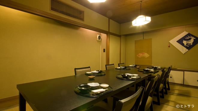 はくしか - 内観写真:2階、3階には個室があります