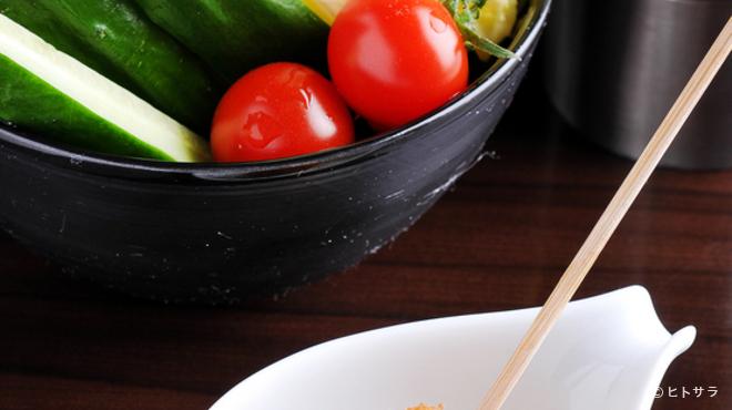 創作串揚 つだ - 料理写真:お店で使用する全ての食材へのこだわり