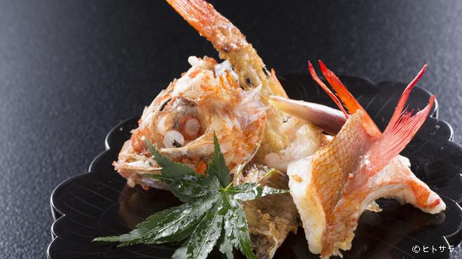 駒龍 - 料理写真:シンプルな焼きが美味しい『キンキン塩焼』