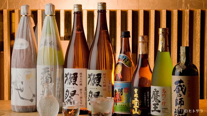 銀座和乃匠 - ドリンク写真:日本酒、焼酎が充実