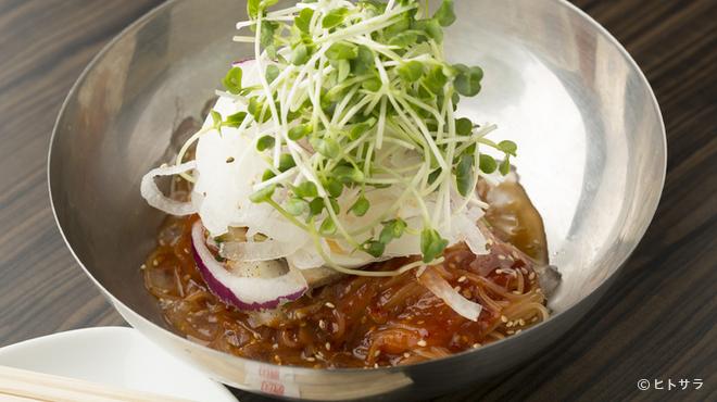 天壇  - 料理写真:辛冷麺