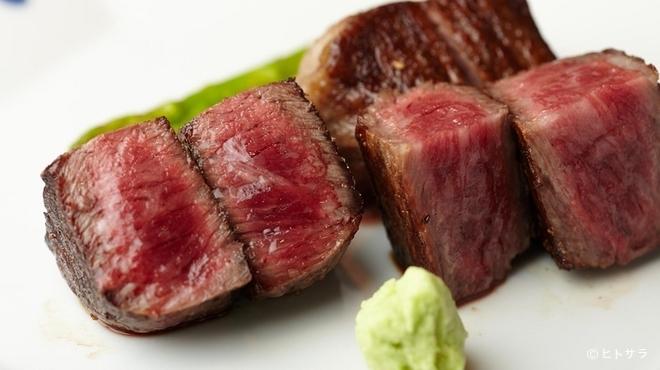 加藤牛肉店 - 料理写真:山形牛の真骨頂はシンプルなステーキで!