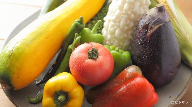 イオラシック - その他写真:自家菜園で大切につくられた新鮮な旬野菜たち