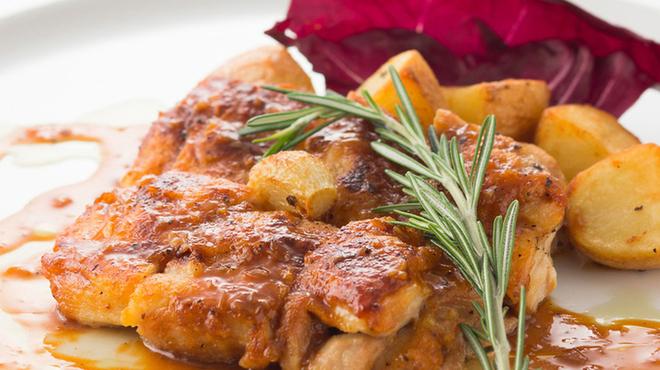 ミア ボッカ - 料理写真:若鶏のソテー小悪魔風