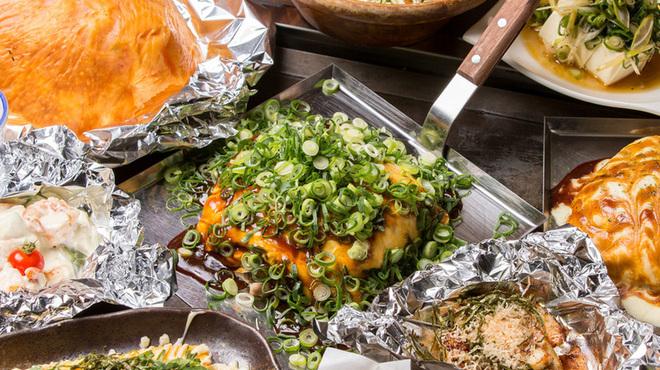 広島流 お好み焼き 鉄板料理 がんす - 料理写真: