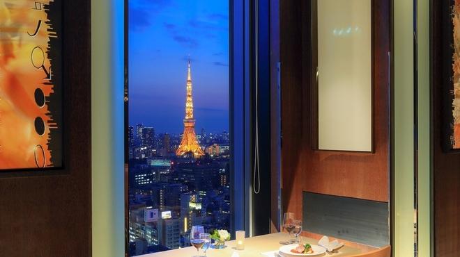 オールデイダイニング ハーモニー - 料理写真:地上約100メートルから望む東京タワー
