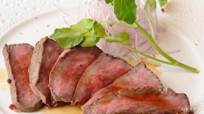 みあん つばき - 料理写真:阿波牛のもも肉を使った『ローストビーフ』