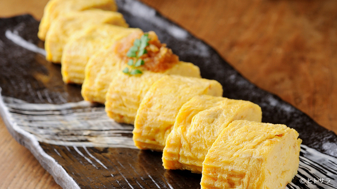 和今洋菜 あん - 料理写真:ふんわり食感がたまらない『慈恵卵のだし巻きたまご 一本』