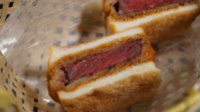 しゃぶ玄 - 料理写真:お肉の専門店だからこそのカツサンド