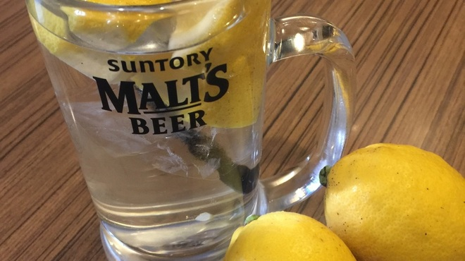 純平 - ドリンク写真:期間限定の瀬戸内レモン酎