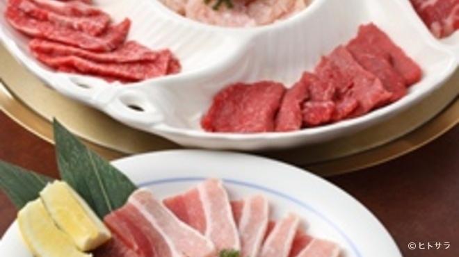 港南台関内苑 - 料理写真:お薦めバラエティー大皿3〜4名様
