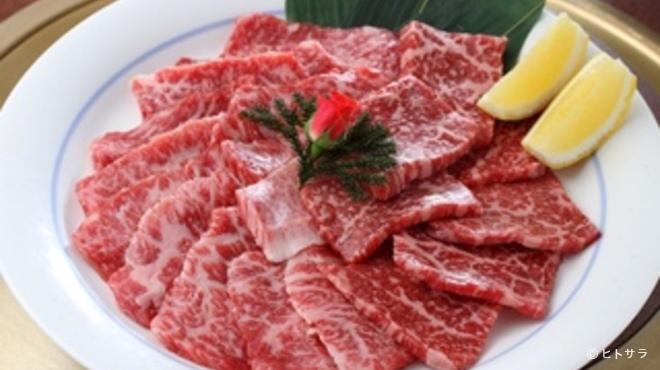 港南台関内苑 - 料理写真:和牛上セット