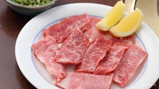 港南台関内苑 - 料理写真:和牛ネギ塩カルビ(A-5)