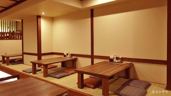 喜之助 - 内観写真:ほっと和みながら、美味しい食事とお酒がゆったりと味わえる空間