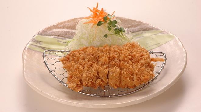 かつ辰 - 料理写真:備中高原鶏チキンかつ