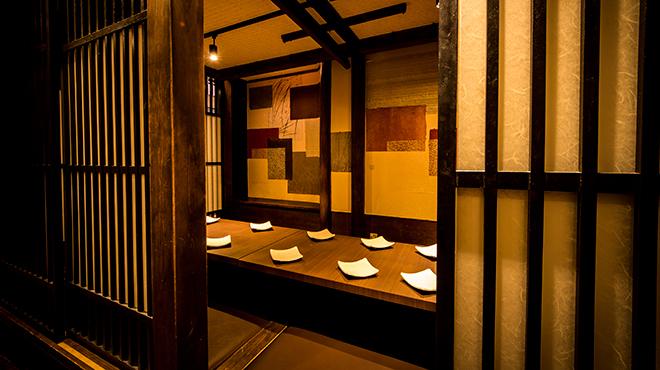 銀座 創作個室割烹 祇園 - メイン写真:
