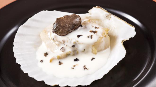 ラ・ベランダ - 料理写真:☆土日ディナー限定☆帆立のトリュフクリームソース