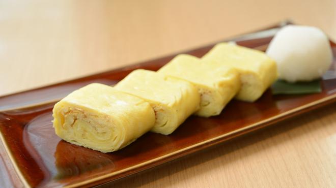 つみき - 料理写真:とっとこ村 魚沼ヒカリ玉子のだしまき玉子 750円 魚沼コシヒカリを食べて育った日本一のグルメ玉子