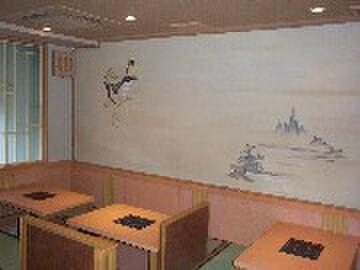 福太郎 - 内観写真:別館・可動式5テーブル