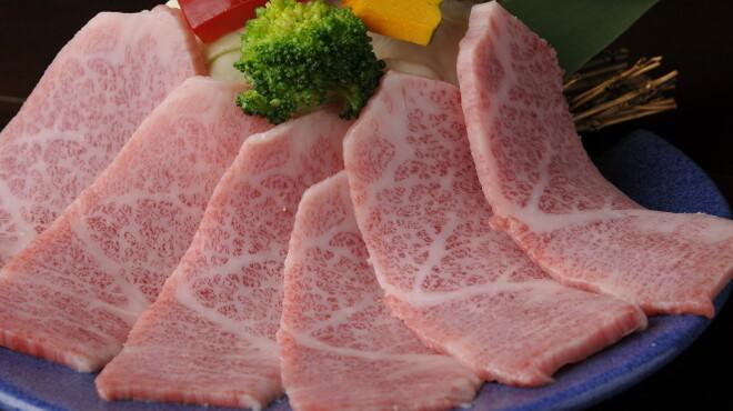 肉匠迎賓館 - 料理写真:特選カルビ,タテメです。ジューシーですよ!