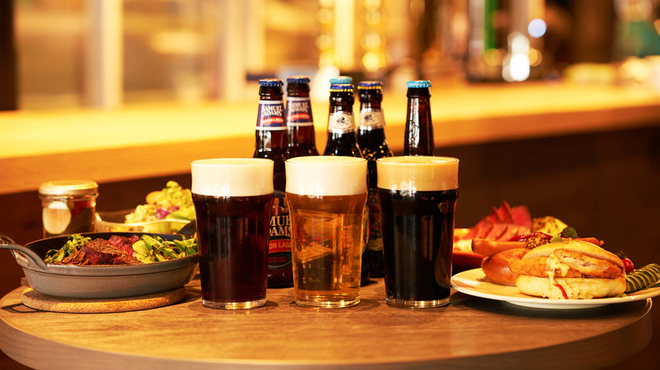 GRANDMIRAGE WHOLE NOTE CAFE - ドリンク写真:ビール各種