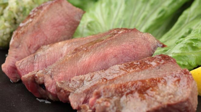 丹屋 - 料理写真:人気メニュー!「厚切り牛芯たん」2~3週間熟成させることにより、深い味わいと柔らかな食感に。