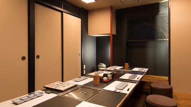 串揚三昧 幸華 - 内観写真:8名様向け 個室一例