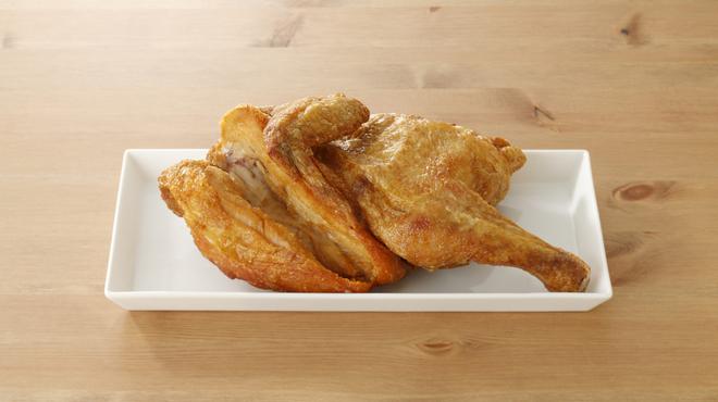 なるとキッチン - 料理写真:若鶏半身揚げ
