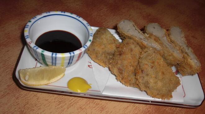 和夢 - 料理写真:はんぺんのフライ 静岡名物のフライです