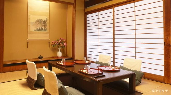 駒龍 - その他写真:椅子やテーブル、座卓、お膳の席も