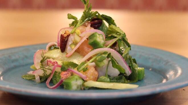 MEAT BANK - 料理写真:鮮魚のカルパッチョ