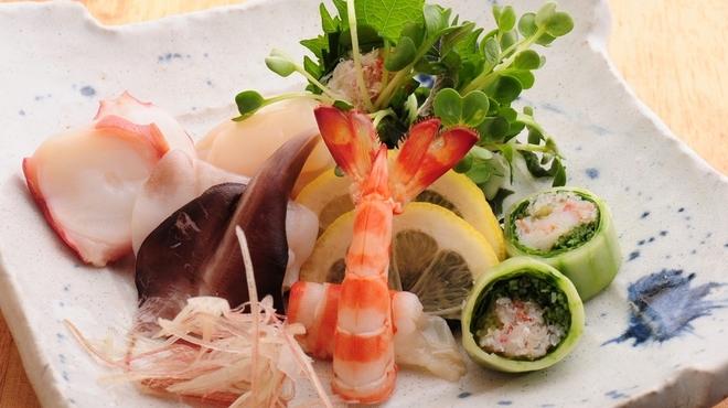 ときすし - 料理写真:酢の物盛り合わせ