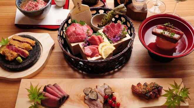肉割烹 幹 - メイン写真: