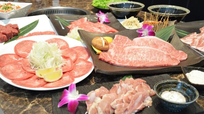 KANNAN亭 - 料理写真:6月限定!!黒毛和牛サーロインやイチボの焼きしゃぶが食べれる6月限定コース!!