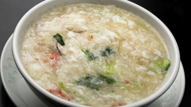 中国料理 龍鱗 - 料理写真:冬瓜スープ