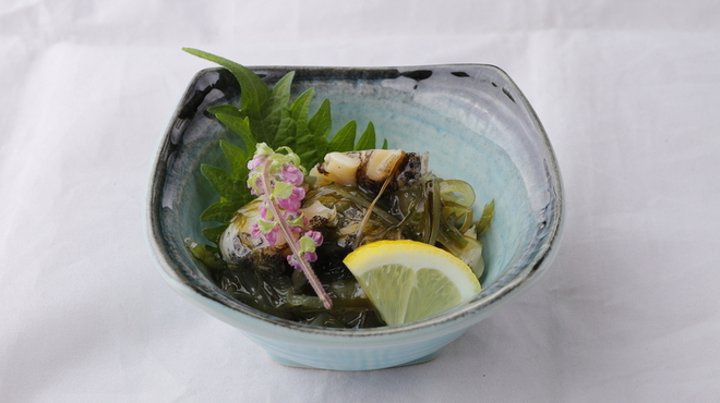 ざうお - 料理写真:つぶ貝わさび