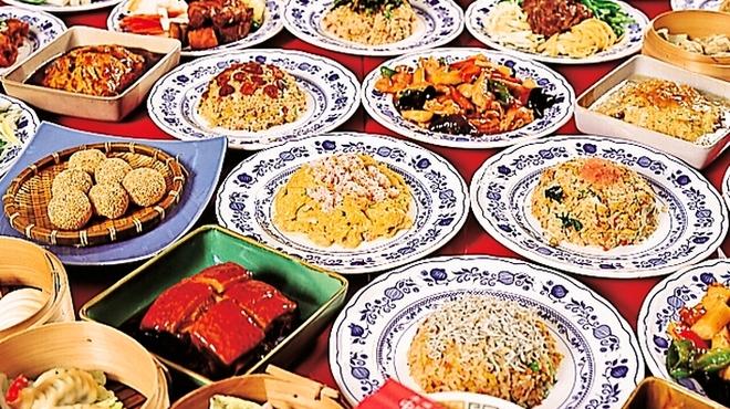 中国日隆園 - 料理写真:日隆園の食べ飲み放題