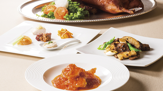 中国料理 桃花林 - 料理写真:グランド「蘭」コース(昼・夜)お一人様¥7,000(税・サービス料別)