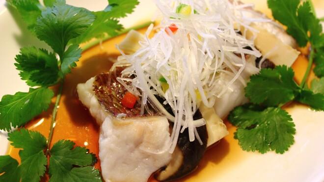 明賢荘 - 料理写真:鮮魚の香り醤油仕立て