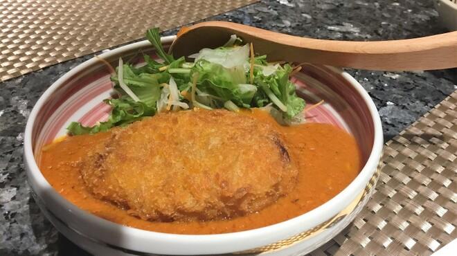 SUSHI SQUARE - 料理写真:特製トマトソースのコロッケ