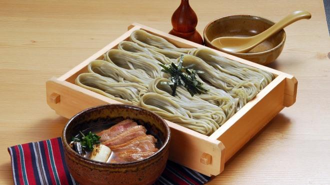 小嶋屋総本店 - 料理写真:鴨汁へぎそば