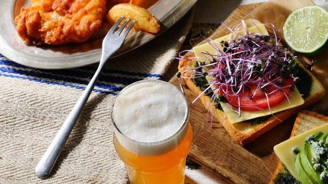 ブルックリンパーラー - 料理写真:オリジナルビールの提供も始めました。