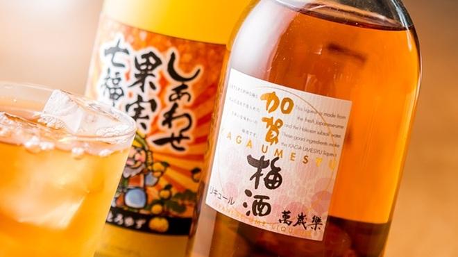 利き蕎麦 存ぶん - ドリンク写真:豊富な果実酒