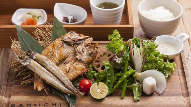 KAN-ICHI - 料理写真:ノドグロ干物プレート