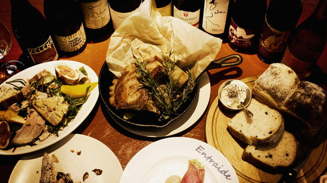神楽坂ワイン食堂 ビストロ Entraide - メイン写真:
