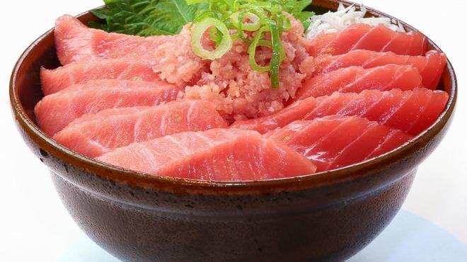 鮮宴丼ひろし - 料理写真:生・本まぐろ丼