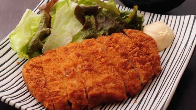 """しゃかりき432"""" - 料理写真:三元豚ロースとんかつ"""