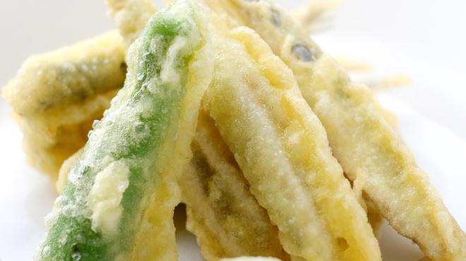 かき小屋袋町 海平商店 - 料理写真:小いわし天ぷら